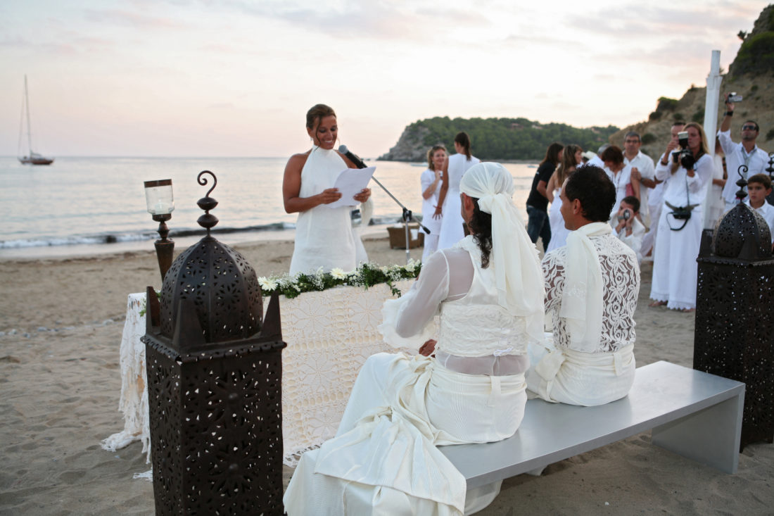 Altar Beach Wedding
