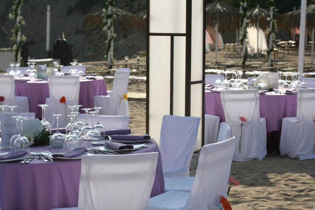 mesas lavanda boda